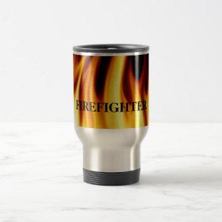 Firefighter Flames Gift Mug