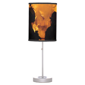 Firefighter Flames Table Lamp