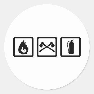 firefighter gear stickers