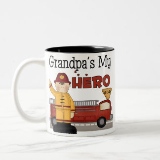 Firefighter Gifts Two-Tone Coffee Mug