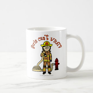 Firefighter Girl Coffee Mug