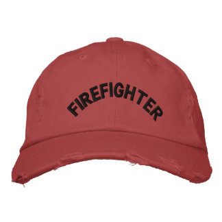Firefighter Hat Embroidered Baseball Caps
