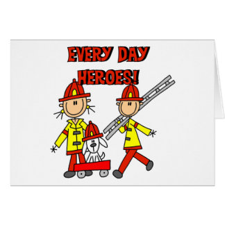 Firefighter Heroes Card