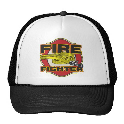 Firefighter Hose and Shield Hats