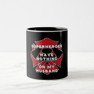 Firefighter husband mug