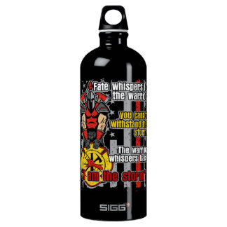 Firefighter I Am the Storm Water Bottle
