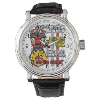 Firefighter I Am the Storm Wristwatch