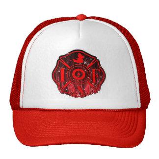 FIREFIGHTER. IAFF TRUCKER HAT