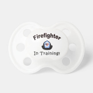 Firefighter In Training Baby Pacifier