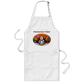 Firefighter Kilroy Apron- Firehouse Chef Long Apron