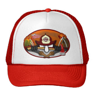 Firefighter Kilroy Hat