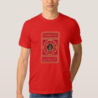 Firefighter Lieutenant Tee Shirt