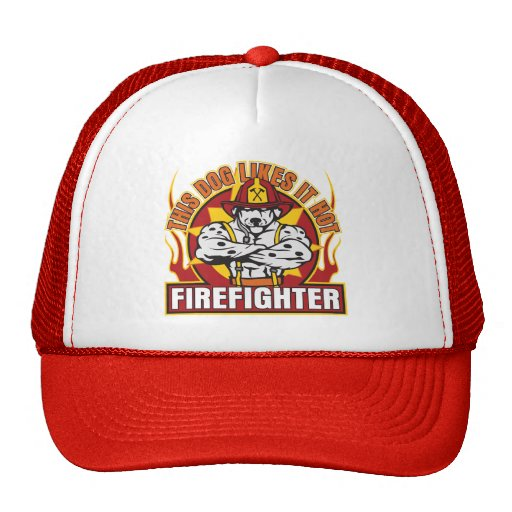 Firefighter Likes it Hot Hat
