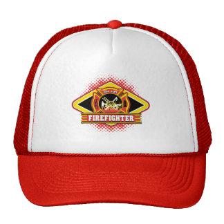 Firefighter Logo Mesh Hat