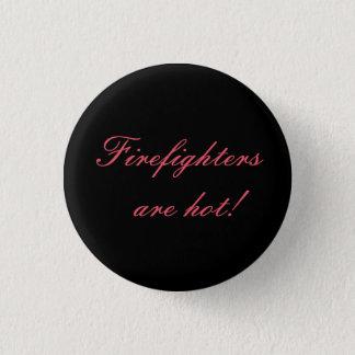 Firefighter Love Black Button
