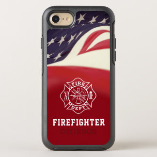 Firefighter Maltese Cross iPhone Case