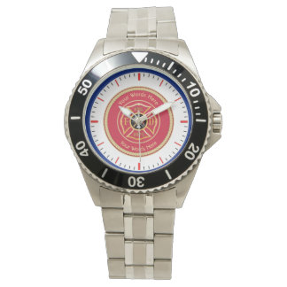 Firefighter Maltese Cross Rope Shield Universal Watch