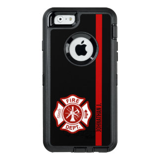 Firefighter Maltese Cross Thin Red Line OtterBox iPhone 6/6s Case