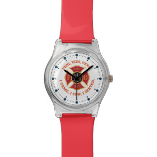 Firefighter Maltese Cross Veteran Watch