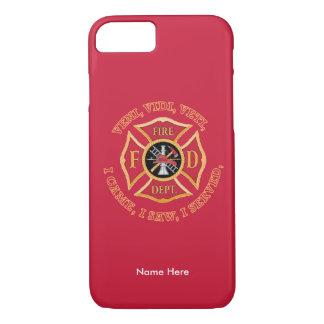 Firefighter Maltese Cross VVV iPhone Case