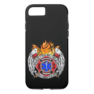 Firefighter/Medic Combination Emblem iPhone 7 Case