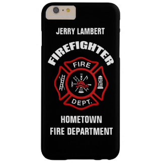 Firefighter Name Template Barely There iPhone 6 Plus Case