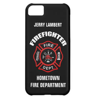 Firefighter Name Template Cover For iPhone 5C