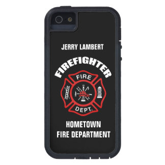 Firefighter Name Template iPhone 5 Cover