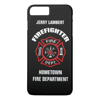 Firefighter Name Template iPhone 7 Plus Case