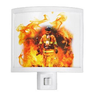 Firefighter Night Light