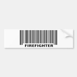 firefighter on duty bumper sticker
