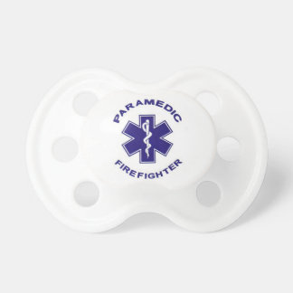 Firefighter Paramedic Baby Pacifiers