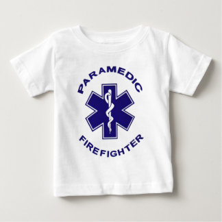 Firefighter Paramedic Baby T-Shirt