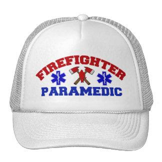 Firefighter Paramedic Cap Trucker Hat