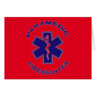 Firefighter Paramedic Card