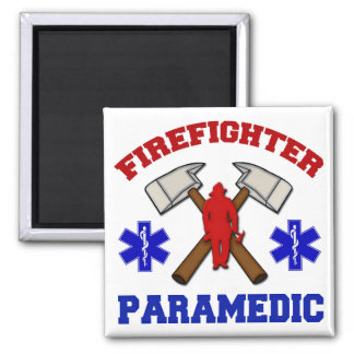 Firefighter Paramedic Magnet