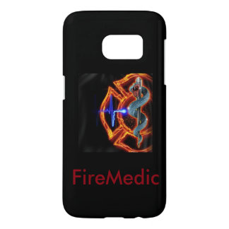 firefighter paramedic phone case, samsung galaxy s7 case
