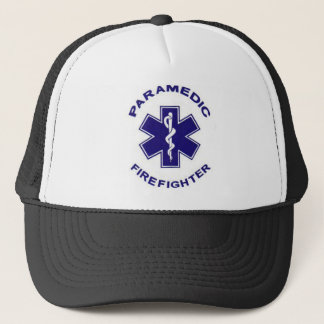 Firefighter Paramedic Trucker Hat
