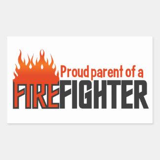 Firefighter Parent stickers, customizable Sticker