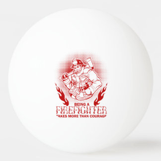 Firefighter Ping Pong Ball