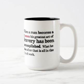 Firefighter Quote Mug
