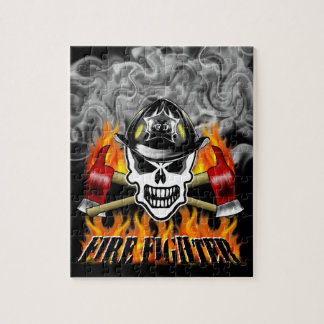 Firefighter Skull 2 and Flaming Axes Puzzles