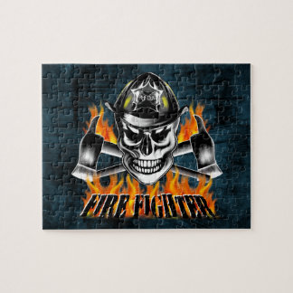 Firefighter Skull 4 and Flaming Axes Puzzles