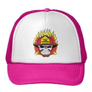 Firefighter Skull Hat