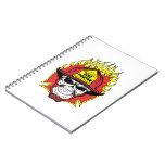 Firefighter Skull Notebooks
