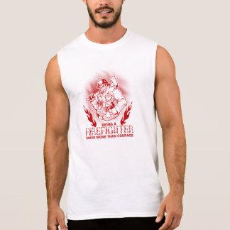 Firefighter Sleeveless Shirt