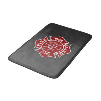 Firefighter Small Bath Mat