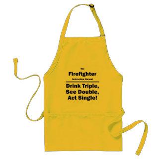 firefighter standard apron