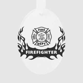 Firefighter Tattoos Ornament