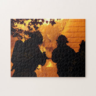 Firefighter Team Jigsaw Puzzle